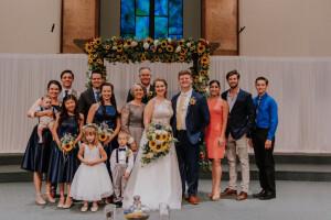 Kennan and Miriam Wedding Pic